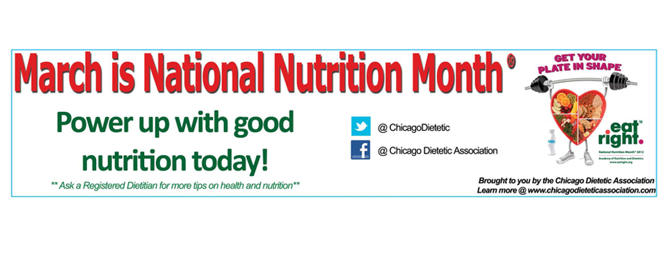 CDA's CTA National Nutrition Month Ad